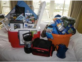 Camping Class Basket - BiddingForGood Fundraising Auction