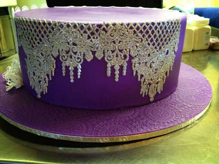 17 best images about Cake Design - Lace cakes on Pinterest ...