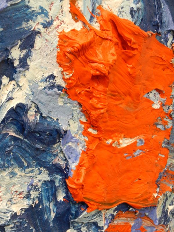 Close-up uit het werk van Jan Cremer in de Fundatie, Zwolle