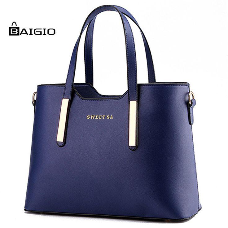 $34.00 (Buy here: https://alitems.com/g/1e8d114494ebda23ff8b16525dc3e8/?i=5&ulp=https%3A%2F%2Fwww.aliexpress.com%2Fitem%2FBaigio-Women-Top-handle-Bag-Shoulder-Bags-PU-Leather-Handbags-Solid-Tote-Bolsas-Feminina-Borse-Female%2F32673121546.html ) Baigio Women Top-handle Bag Shoulder Bags PU Leather Handbags Solid Tote Bolsas Feminina Borse Female Herald Fashion Women Bag for just $34.00