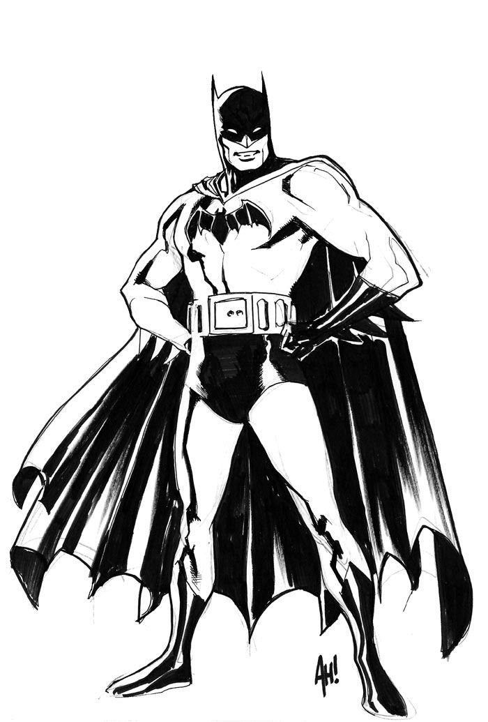Golden Age Batman by Adam Hughes