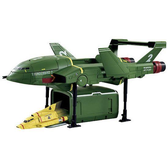 Thunderbird 2 with TB4 | Thunderbirds | Shop online at DirectToys NZ