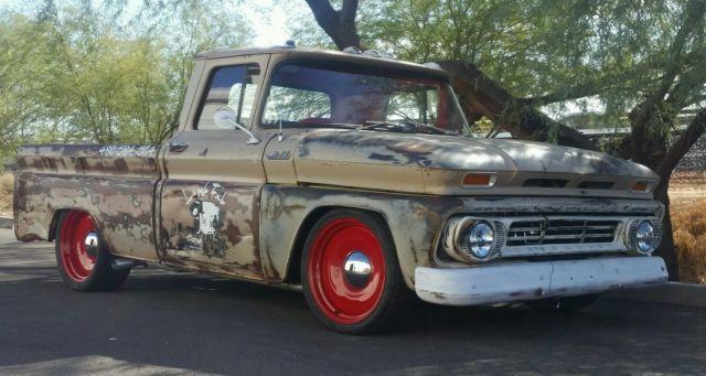 c10 rat rod shop truck 1962 Chevrolet chevy for sale: photos, technical specifications, description