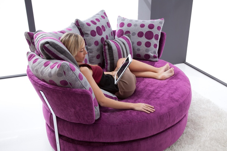 My Apple Loveseat By Fama Sitting Areas Purple Sofa
