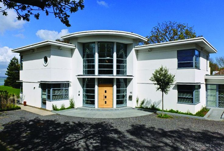Art deco house in hampshire england anything art for Home and deco