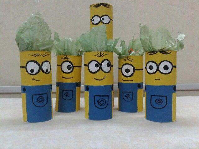 Souvenirs infantiles con rollos de papel higienico - Rollos de papel pintado ...