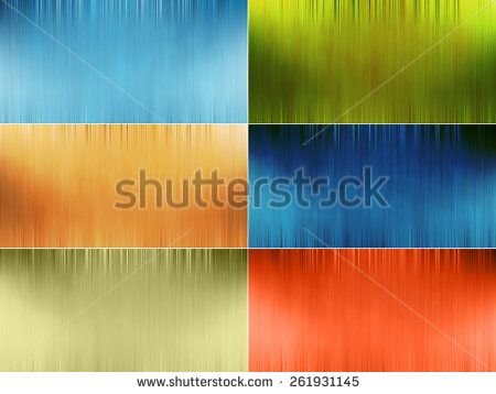 Set of blurred abstract trendy colored backgrounds - stock photo