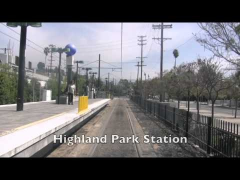 los angeles: metro gold line video, excellent for getting a sense of the cityscape