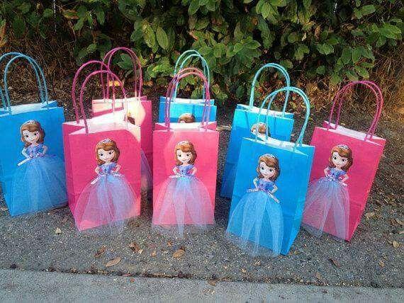 Bolsita para dulces princesa Sofia