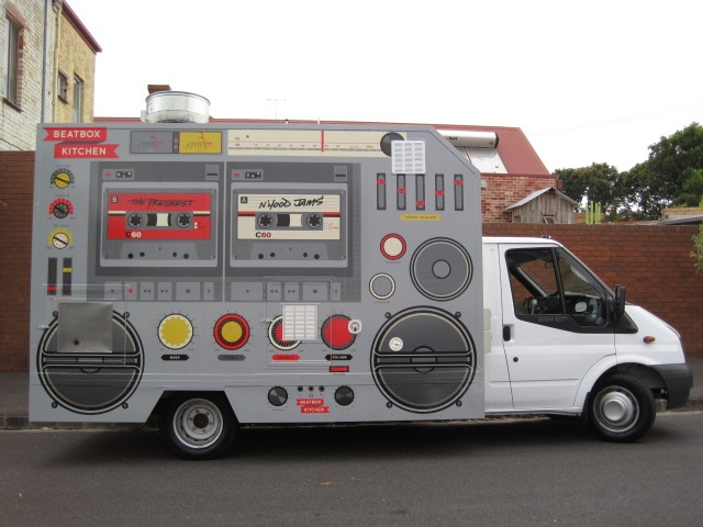 Looks Like The Yo Gabba Boom Boxesome Ultimate Food Truck