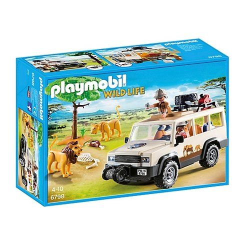Superb Playmobil Safari Truck with Lions 6798 Now At Smyths Toys UK! Buy Online Or Collect At Your Local Smyths Store! We Stock A Great Range Of Playmobil At Great Prices.