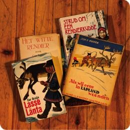 Old lapland storybooks from holland