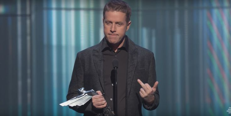 Geoff Keighley sends a message to Konami At the Game Awards. http://prnt.sc/dec54y