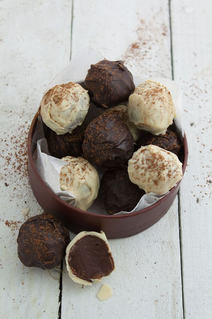 Recipes Made Easy hand-rolled coffee truffles