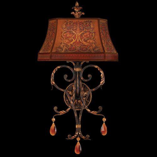 elite lighting fixtures. brighton pavillion one light wall sconce in bronzed sienna finish fine art lamps flush to elite lighting fixtures o