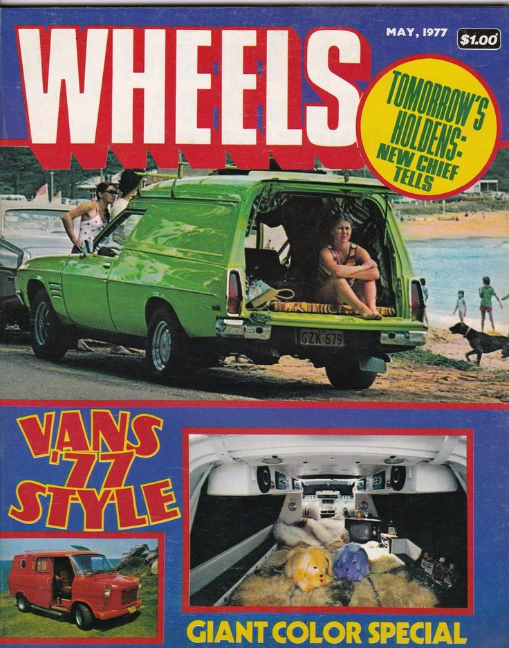 Vintage Australian Wheels Magazine May 1977 40th Birthday Idea for Him by SuesUpcyclednVintage on Etsy