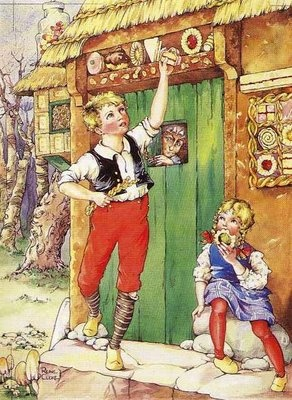 Hansel and Gretel produced in the 1930's.  By Rene Cloke
