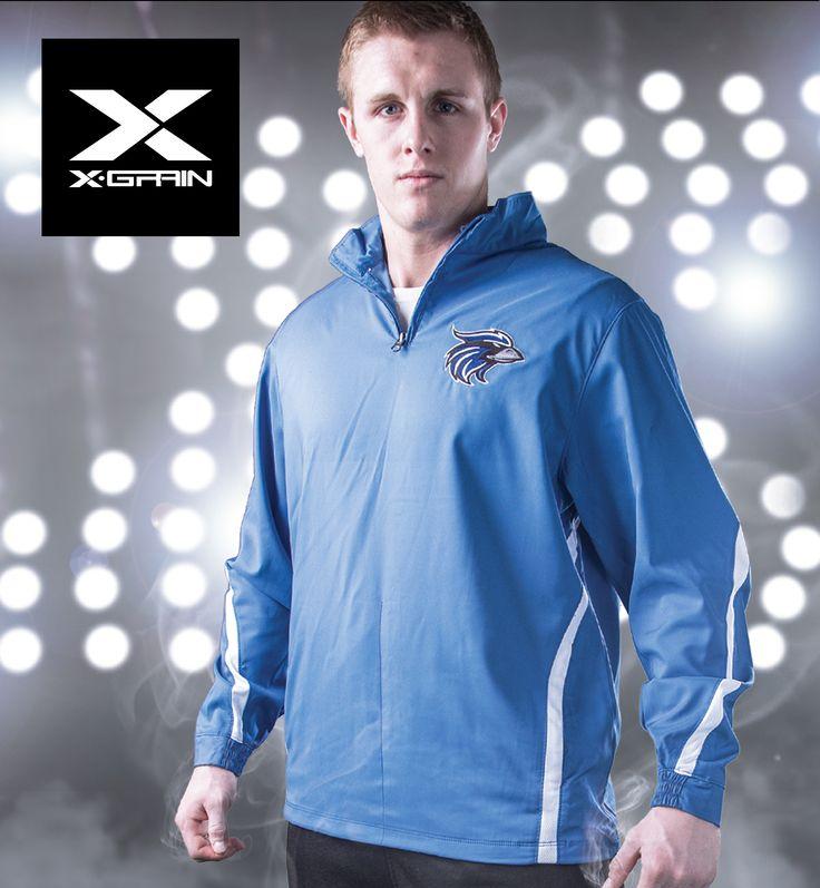 X Grain Sportswear Baseline Storm Jacket Football