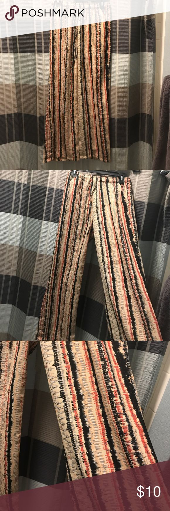 Hippy pants! Only worn once. Sadly selling because they don't fit :/ from TJ max and a size SMALL Pants Wide Leg