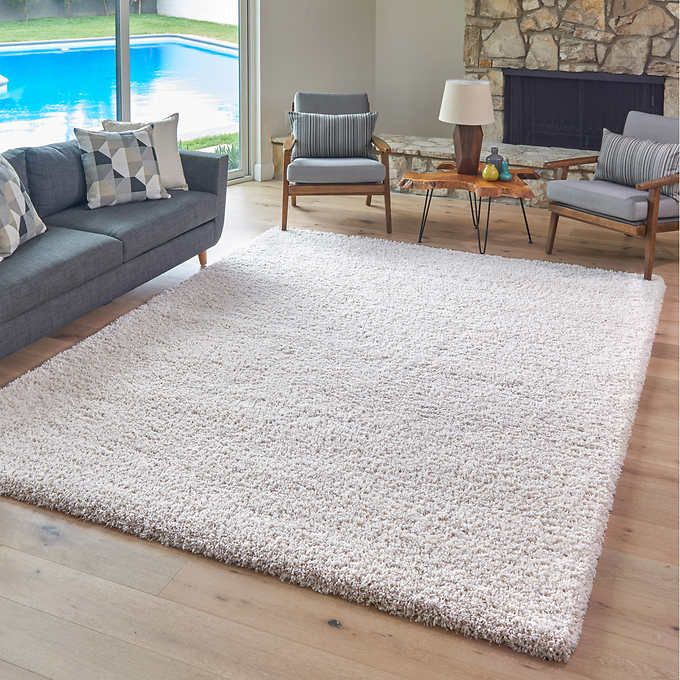 Thomasville Marketplace Luxury Shag Rugs   Rugs in living room, Shag rug living room, Shag rug