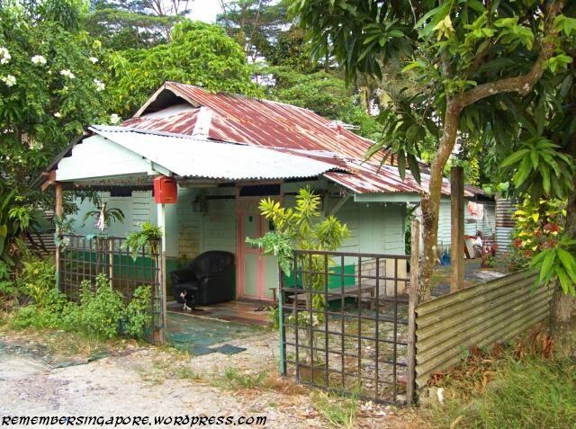 Kampong Lorong Buangkok, the last Kampong (Village) in mainland Singapore.