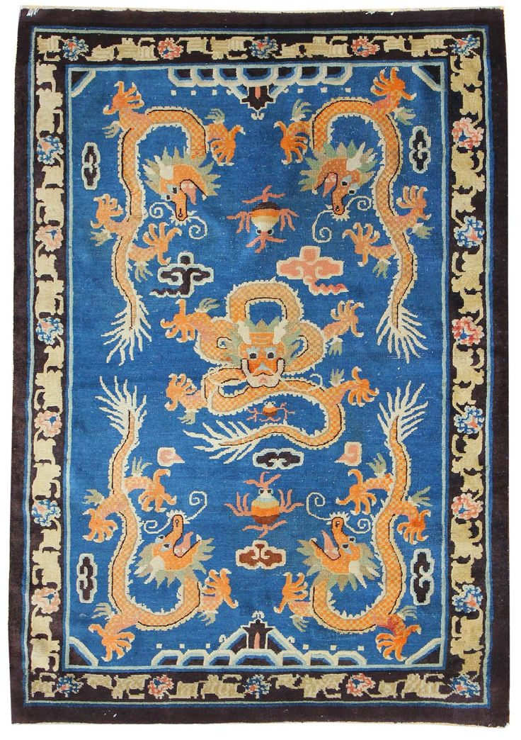316 best antique  modern chinese  tibetan rugs images on pinterest