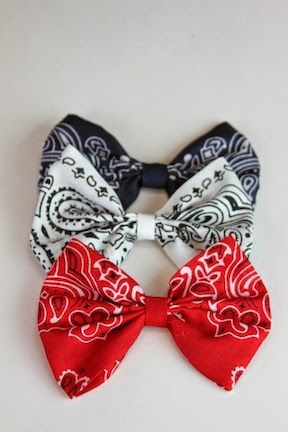 Show Me Cute: 4th of July Hair Accessories