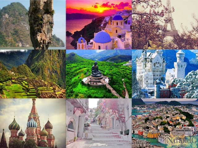 Pinterest Inspiration: Amazing Places