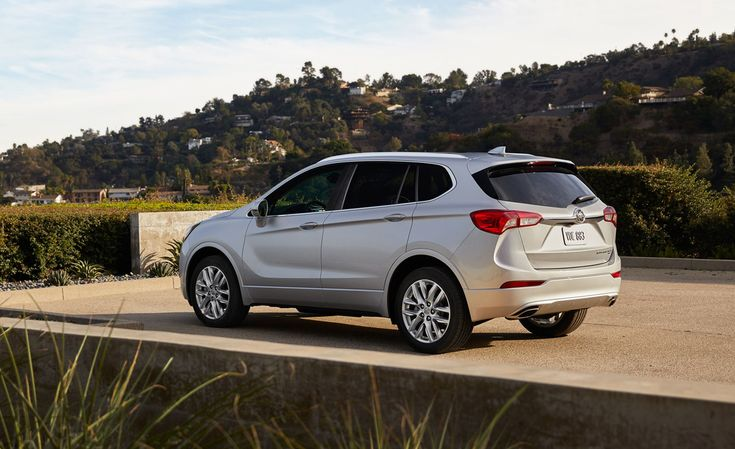 Buick Envision Compact Crossover Gets Refreshed for 2019 – Official Photos and Info