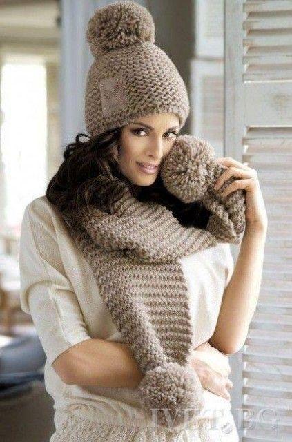 Интересные идеи для вязания шапочек | Вязание крючком и спицами