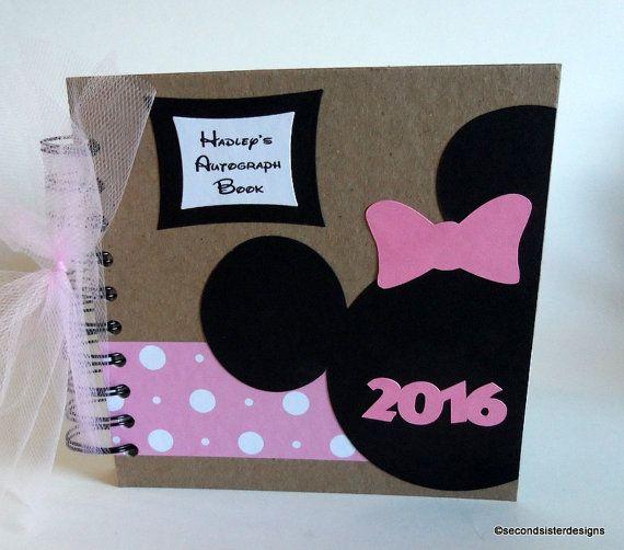 2017 80 páginas rosa lunares Disney libro de autógrafos