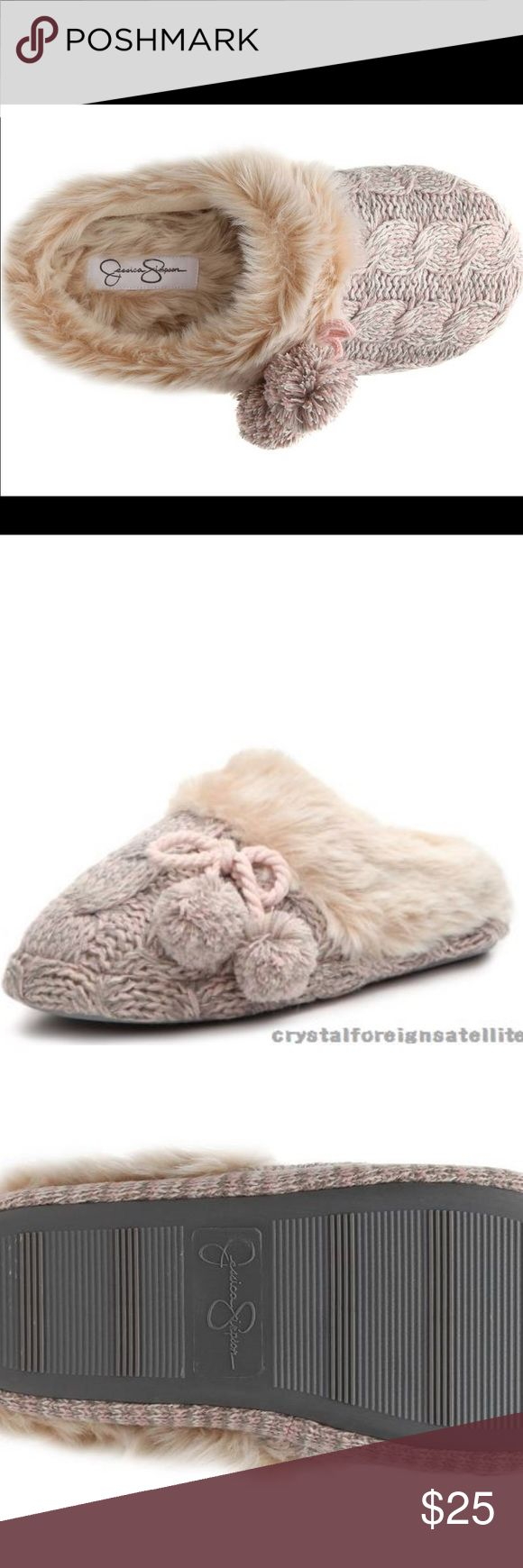 Jessica Simpson slippers New in box Jessica Simpson Shoes Slippers