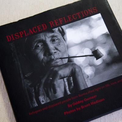 BOOK: @OddnyGumaer shares stories and reflections on displacement in #Burma #Myanmar BUY: http://store.partnersworld.org/collections/frontpage/products/displaced-reflections…