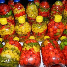 Aprenda a fazer Conserva de Pimenta