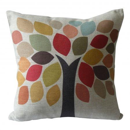 Happy tree cushion cover | hardtofind.