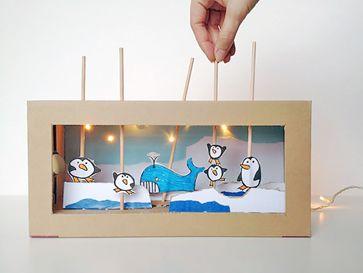 Домашний театр для детей своими руками