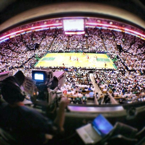 ABC cam view of Game 7 at TD Garden: Celtic Instagram, Cam View, Abc Cam, Boston Celtic, Td Gardens