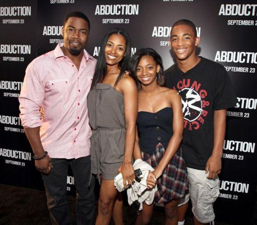 Michael Jai White and family