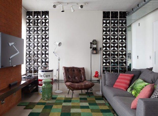 Home Theater Na Sala De Estar ~ sobre Decoração Tapete De Couro no Pinterest  Decoração tapete de