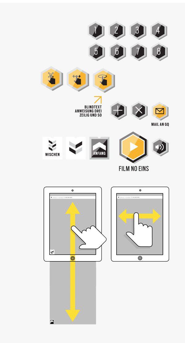 GQ MAGAZIN+ // iPad App Selection // Part I on App Design Served