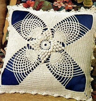 Lace Pillow Free Crochet Pattern. More Great Looks Like This