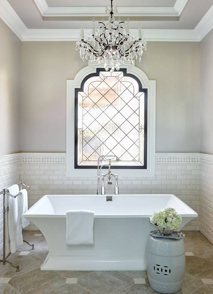 Private Residence 4 Bathroom Chandelier French Bathroom