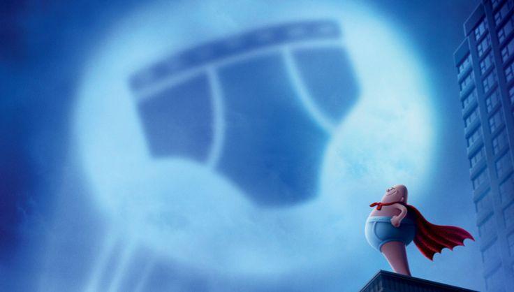 Nova animação da DreamWorks, teve seu primeiro trailer divulgado, com os dubladores Kevin Hart , Ed Helms, Nick Kroll e Thomas Middleditch, Capitão Cueca
