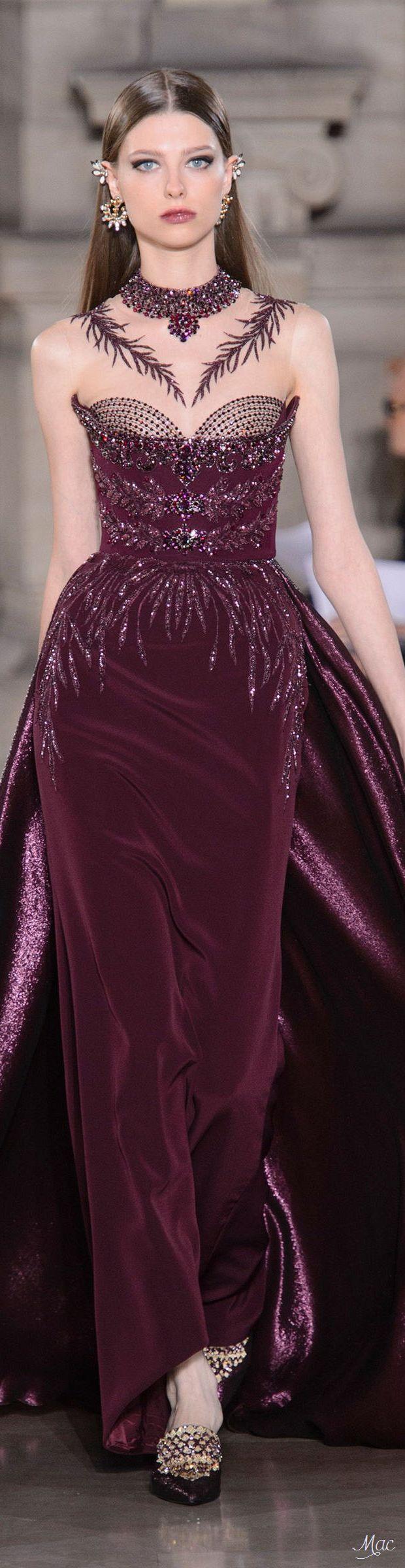 ~ Georges Hobeika Fall 2017 Haute Couture ~   Mac  