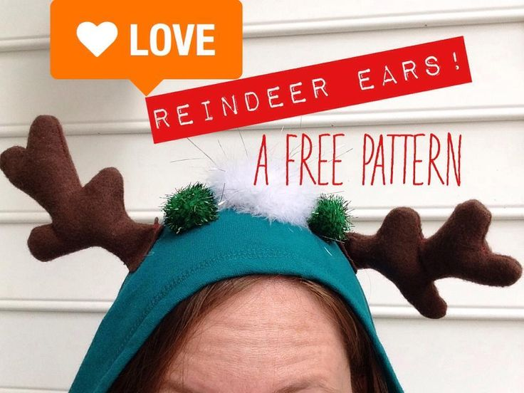 Reindeer Ears Pattern by Craft Ideas   Sewing Pattern - Looking for your next project? You're going to love Reindeer Ears Pattern by designer Craft Ideas. - via @Craftsy
