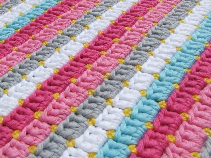 Blanket - like the stitch