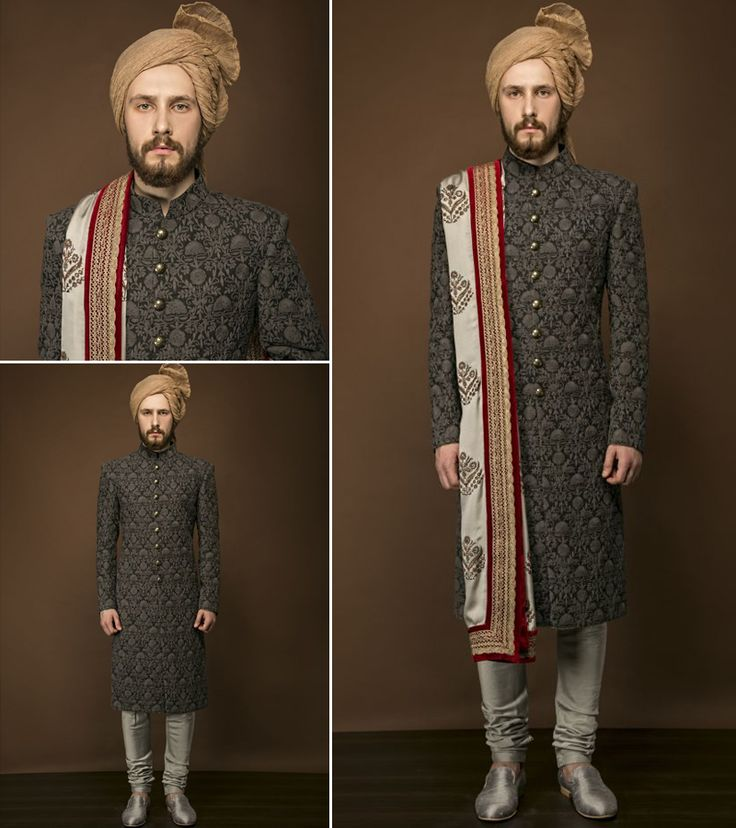 We offer designer chic wedding sherwani for men in Noida, Delhi Ncr, India - Puneetandnidhi.com #WeddingSherwani #IndianDesignersForSherwani #MenSherwani Contact us : Mobile No. 9350301018 Email:- designlablotus@gmail.com http://bit.ly/1MqKhA1