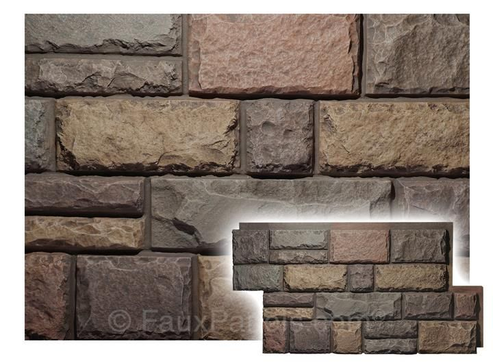 Artificial rock panels can add curb appeal, brighten a basement or add a rustic look to any room for a fraction of the cost of real stone.