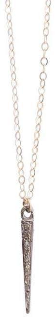 Heather Gardner - Pave Diamond Spike Necklace