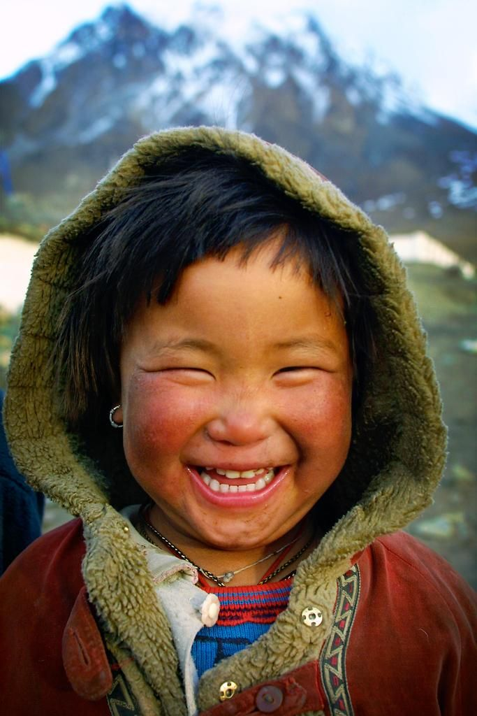 Tibetan refugee in lower mustang nepal unicef portraits